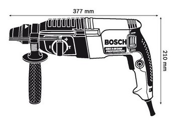 BOSCH GBH2-26DRE SDS PLUS ROTARY HAMMER 800W 110V
