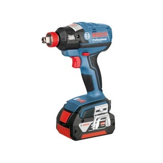 BOSCH GDX18V-EC 18V IMPACT DRIVER / WRENCH WITH 2X 3.0AH LI-ION BATTERIES SUPPLIED IN L-BOXX