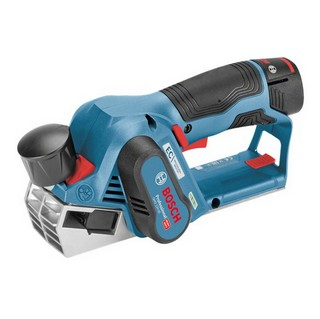 BOSCH GHO12V-20 BRUSHLESS 12V PLANER SUPPLIED IN L-BOXX WITH 2X 3.0AH LI-ION BATTERIES