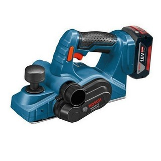 BOSCH GHO18V-LI 18V PLANER WITH 2X 4.0AH LI-ION BATTERIES SUPPLIED IN L-BOXX