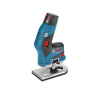 BOSCH GKF12V-8 BRUSHLESS 12V ROUTER SUPPLIED IN L-BOXX WITH 2X 3.0AH LI-ION BATTERIES