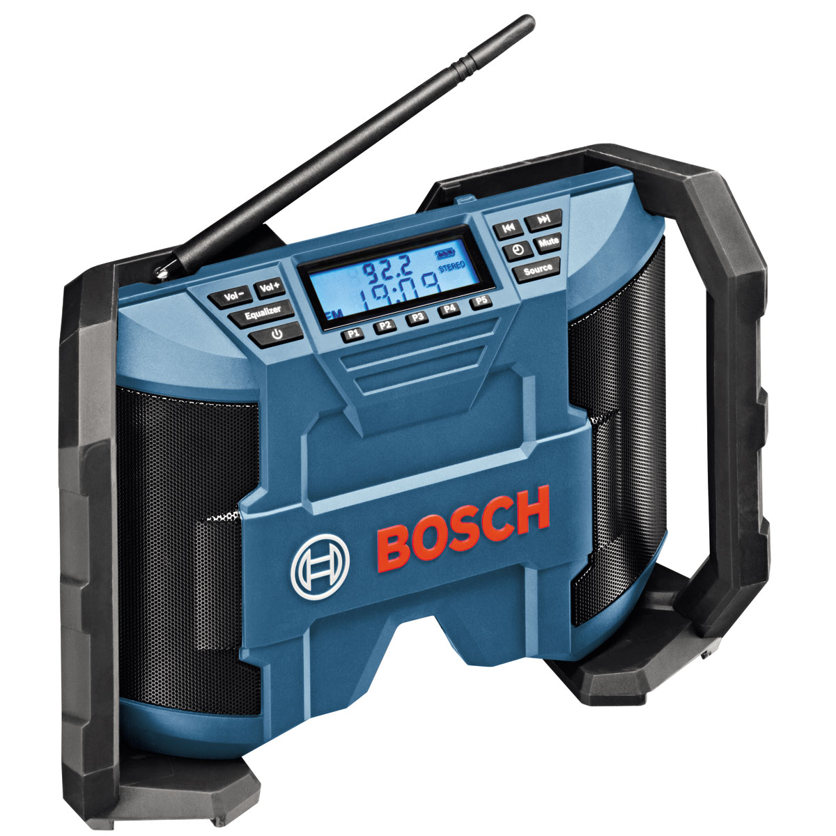BOSCH GML10.8VN 10.8 VOLT JOBSITE RADIO WITH 2 x AAA BATTERIES AND AUX IN CABLE AND DC/AC ADAPTOR