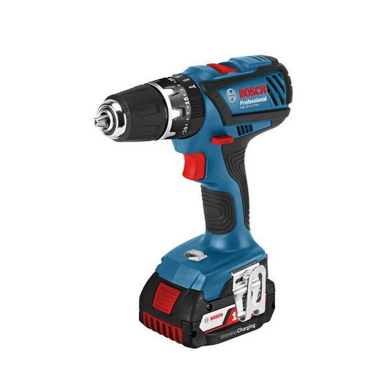 bosch gsb18 2 li plus 18v combi hammer drill supplied in l boxx with 1x li ion battery. Black Bedroom Furniture Sets. Home Design Ideas