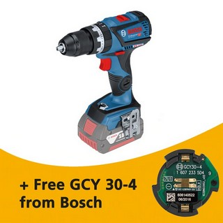 BOSCH GSB18V-60C 18V COMBI HAMMER DRILL CONNECTIVITY READY (BODY ONLY) SUPPLIED IN L-BOXX