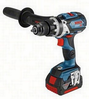 BOSCH GSB18V-85C 18V COMBI HAMMER DRILL + GCY 30-4 (CONNECTIVITY READY) 2X 5.0AH LI-ION BATTERIES