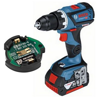 BOSCH GSR18V-60C 18V DRILL DRIVER + GCY30-4 (CONNECTIVITY READY) WITH 2X 5.0AH LI-ION BATTERIES SUPPLIED IN L-BOXX