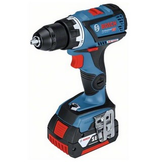 BOSCH GSR18V-60C 18V DRILL DRIVER (CONNECTIVITY READY) WITH 2X 5.0AH LI-ION BATTERIES SUPPLIED IN L-BOXX