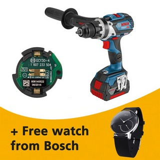 BOSCH GSR18V-85C 18V DRILL DRIVER + GCY30-4 (CONNECTIVITY READY) 2X 5.0AH LI-ION BATTERIES