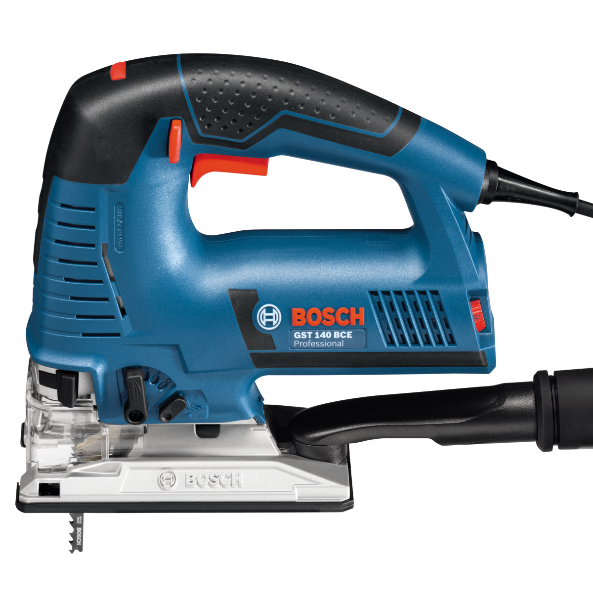 BOSCH GST140BCE 720W TOP HANDLE JIGSAW IN L-BOXX 110V