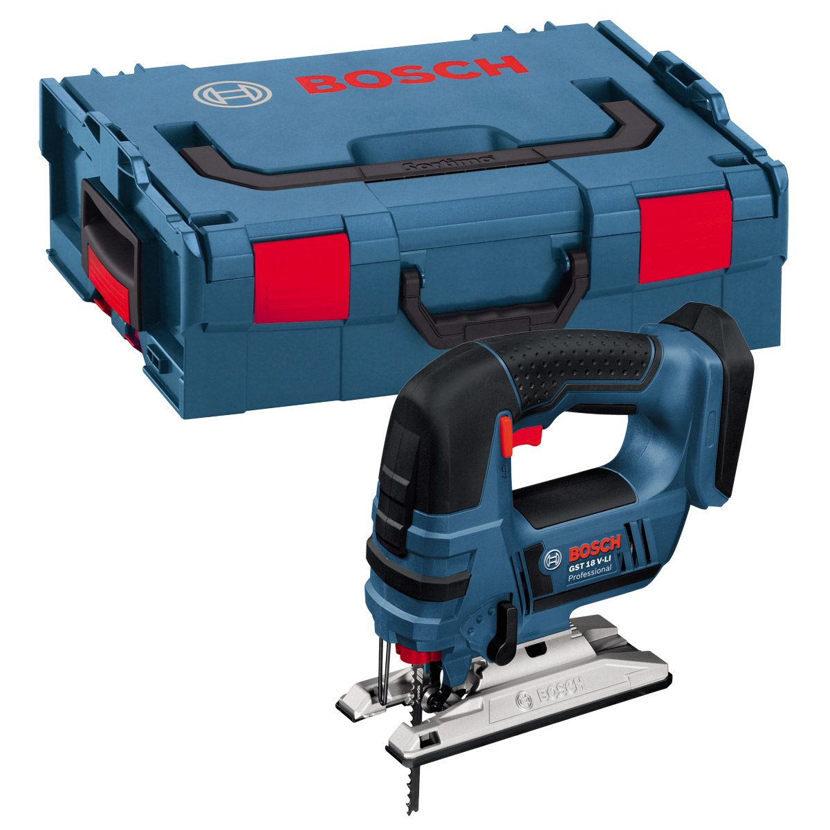 BOSCH GST18V-LIBN 18V JIGSAW (BODY ONLY) SUPPLIED IN L-BOXX