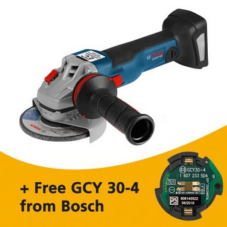BOSCH GWS18V-115 1SC 18V 115MM ANGLE GRINDER CONNECTIVITY READY (BODY ONLY) SUPPLIED IN L-BOXX