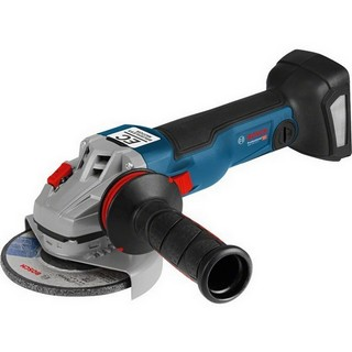 BOSCH GWS18V-125 1SC 18V 125MM ANGLE GRINDER CONNECTIVITY READY (BODY ONLY) SUPPLIED IN L-BOXX