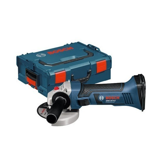 BOSCH GWS18V-LIN 18V ANGLE GRINDER (BODY ONLY) SUPPLIED IN L-BOXX