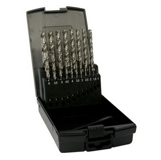 DART BHSSSET19 19 PIECE HSS GROUND TWIST DRILL SET