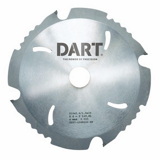 DART PCD165204 DIAMOND PCD SAW BLADE 4TX20X165MM