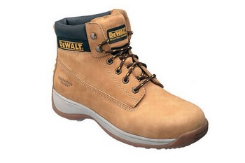 DEWALT APPRENTICE WHEAT NUBUCK SAFETY BOOT (SIZE 8) **VAT EXEMPT**