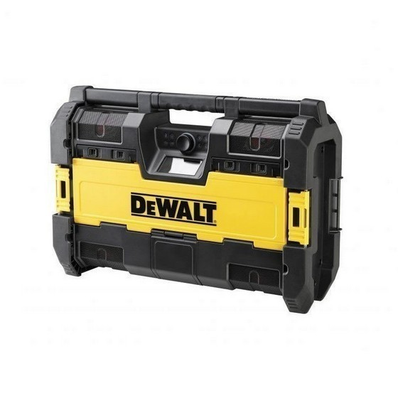 dewalt dab toughsystem radio charger with bluetooth. Black Bedroom Furniture Sets. Home Design Ideas