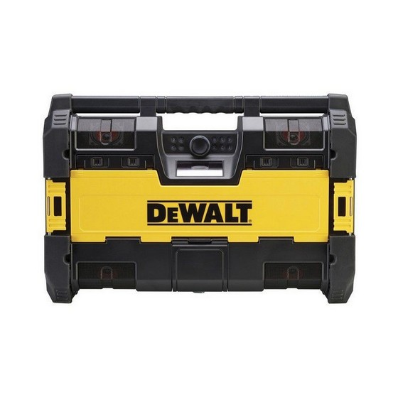 DEWALT DAB TOUGHSYSTEM RADIO CHARGER WITH BLUETOOTH CONNECTIVITY 240V