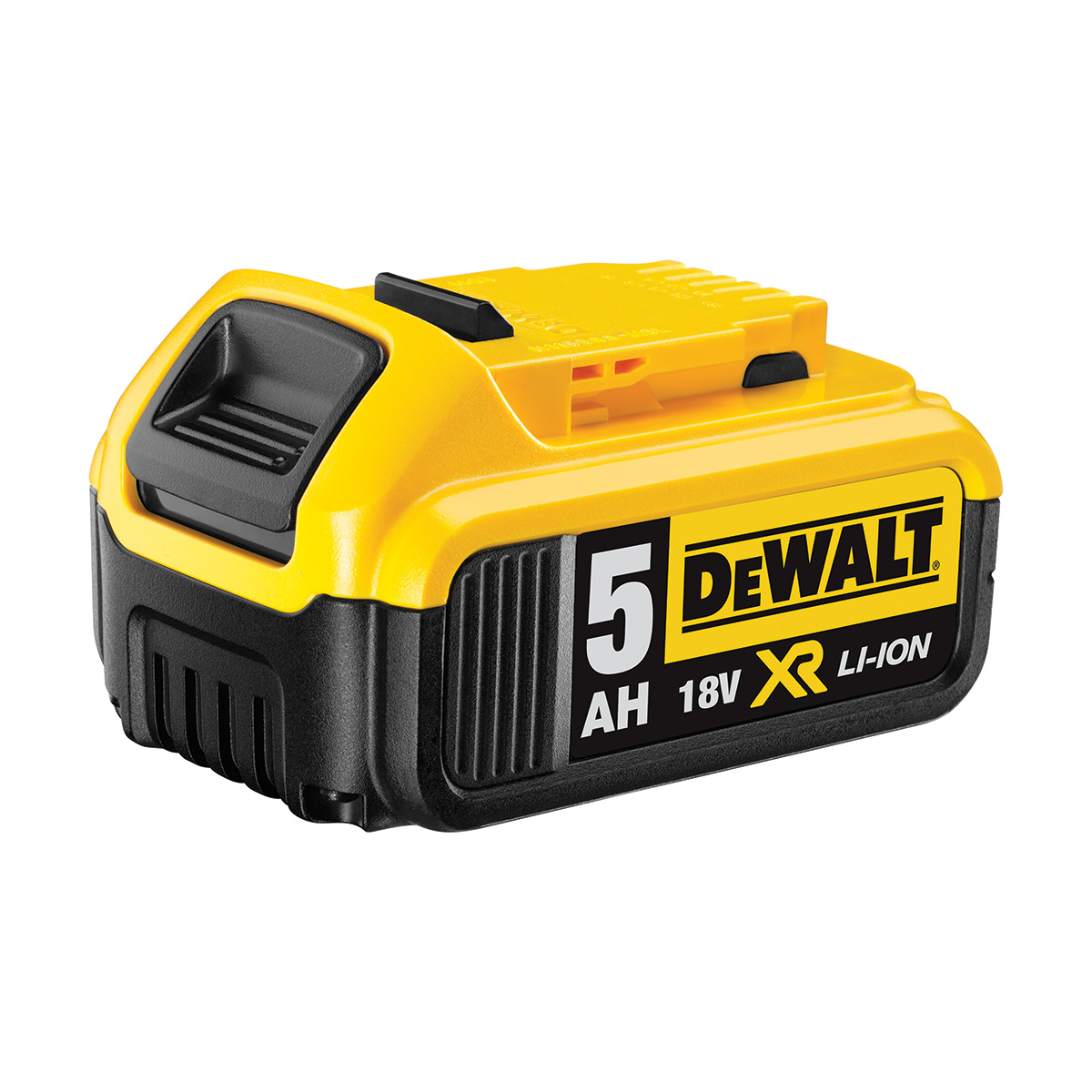 DEWALT DCB184 18V 5.0AH XR LITHIUM ION BATTERY PACK WITH CHARGE INDICATOR