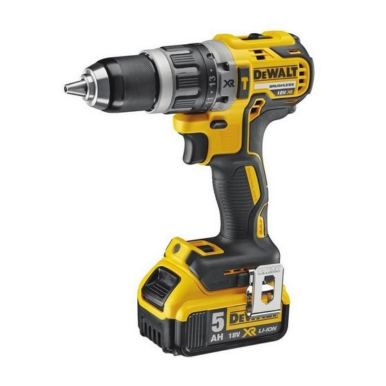 DEWALT DCD796P1 18V COMPACT BRUSHLESS COMBI DRILL WITH 1X 5.0AH LI-ION BATTERY