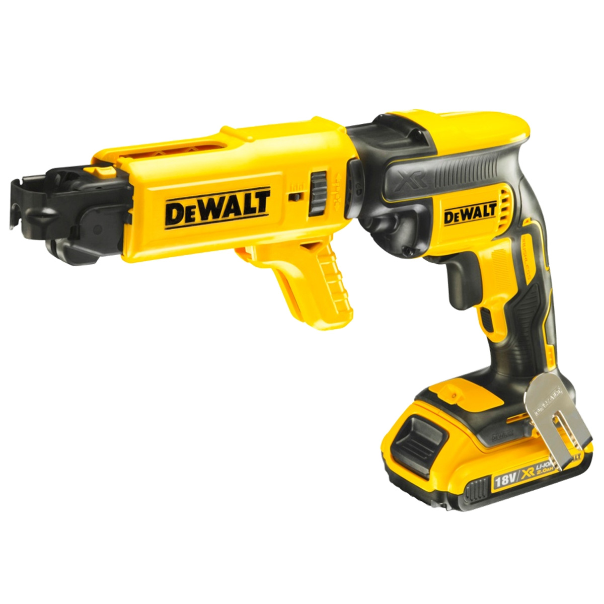 DEWALT DCF620D2K 18V DRYWALL GUN WITH 2X 2.0AH LI-ION BATTERIES