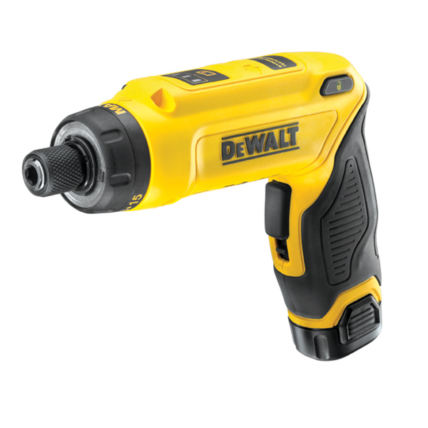 DEWALT DCF680G2 7.2V MOTION ACTIVATED SCREWDRIVER 2 x 1.5AH LI-ION BATTERIES