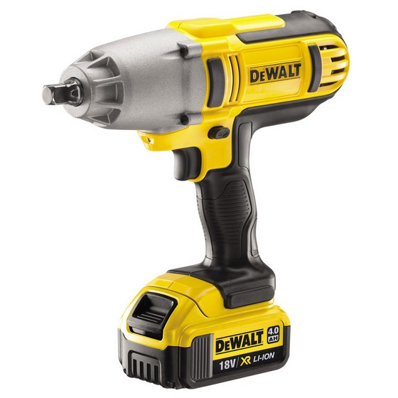 DEWALT DCF889M2 18V XR LITHIUM ION IMPACT WRENCH WITH 2 X 4.0AH BATTERIES AND CARRY CASE
