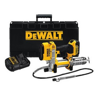 DEWALT DCGG571M1 18V GREASE GUN WITH 1 X 4.0AH LI-ION BATTERY