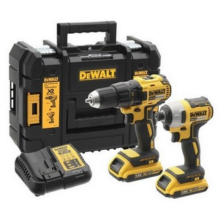 DEWALT DCK2059D2T-GB 18V BRUSHLESS TWIN PACK 2 X 2.0AH LI-ION BATTERIES