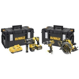 DEWALT DCK357T2 54V FLEXVOLT TRIPLE KIT WITH 2X6.0AH LI-ION BATTERIES