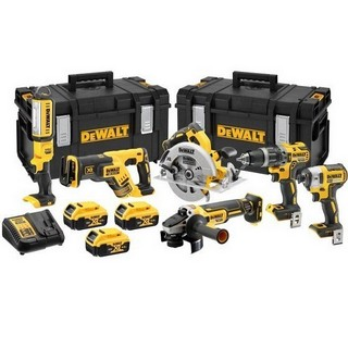 DEWALT DCK623P3-GB 6 PIECE 18V BRUSHLESS KIT WITH 3X 5.0AH LI-ION BATTERIES