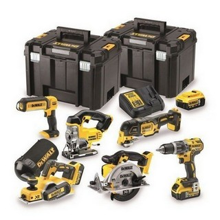 DEWALT DCK665P3T-GB 18V XR 6 PIECE KIT WITH 3X 5.0AH LI-ION BATTERIES