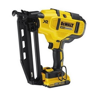 DEWALT DCN660D2 18V XR BRUSHLESS 2ND FIX NAILER WITH 2X 2.0AH LI-ION BATTERIES