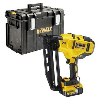 DEWALT DCN660P2 18V 2ND FIX NAILER WITH 2X 5.0AH LI-ION BATTERIES SUPPLIED IN DS400 CASE