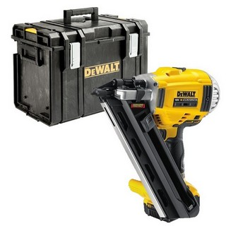 DEWALT DCN692P2 18V 1ST FIX NAILER WITH 2X 5.0AH LI-ION BATTERIES SUPPLIED IN DS400 CASE