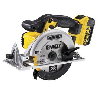 DEWALT DCS391M2 18V CIRCULAR SAW WITH 2 x 4.0AH LITHIUM-ION XR BATTERIES