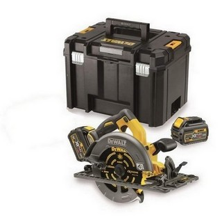 DEWALT DCS576T2-GB 54V XR FLEXVOLT 190MM CIRCULAR SAW KIT WITH 2 X 6.0AH LI-ION BATTERIES