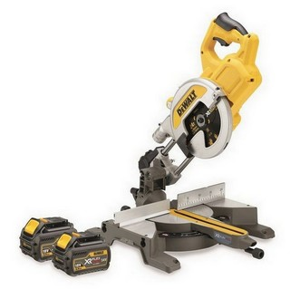 DEWALT DCS777T2 54V XR FLEXVOLT 216MM MITRE SAW WITH 2X 6.0AH LI-ION BATTERIES