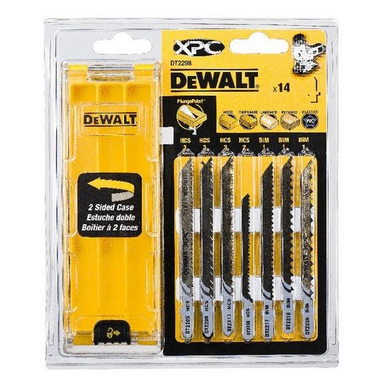 Dewalt Dt2298 Qz 14 Piece Xpc Jigsaw Blade Set Anglia