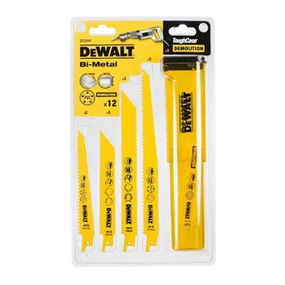 DEWALT DT2441-QZ 12 PIECE  RECIPROCATING SAW BLADE SET