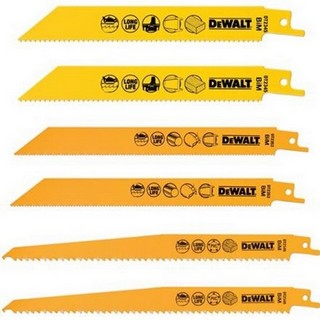 DEWALT DT2444-QZ 6 PIECE RECIP BLADE TOUGH SET