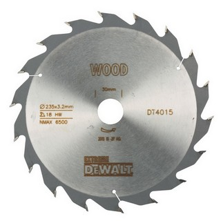DEWALT DT4015-QZ SERIES 40 FAST RIP CIRCULAR SAW BLADE 235MM X 30MM BORE X 18 TEETH