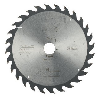 DEWALT DT4036-QZ SERIES 40 CIRCULAR SAW BLADE 235MM X 30MM BORE X 28 TEETH