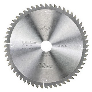 DEWALT DT4097-QZ SERIES 40 EXTRA FINE FINISH CIRCULAR SAW BLADE 235MM X 30MM X 56T