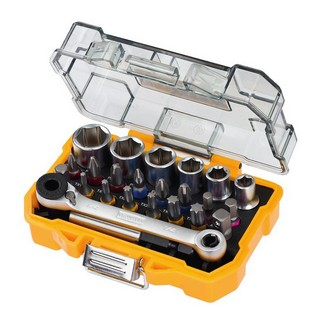 DEWALT DT71516-QZ 24 PIECE SOCKET AND SCREWDRIVING SET