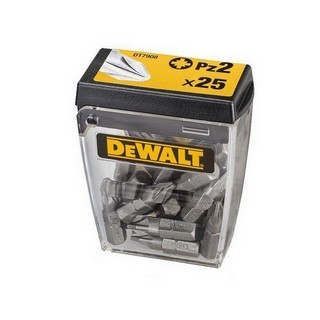DEWALT DT7908-QZ 25 PIECE PZ2 SCREW DRIVER BITS
