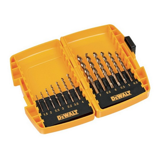 DEWALT DT7920-QZ 13 PIECE EXTREME 2 METAL DRILL BIT SET