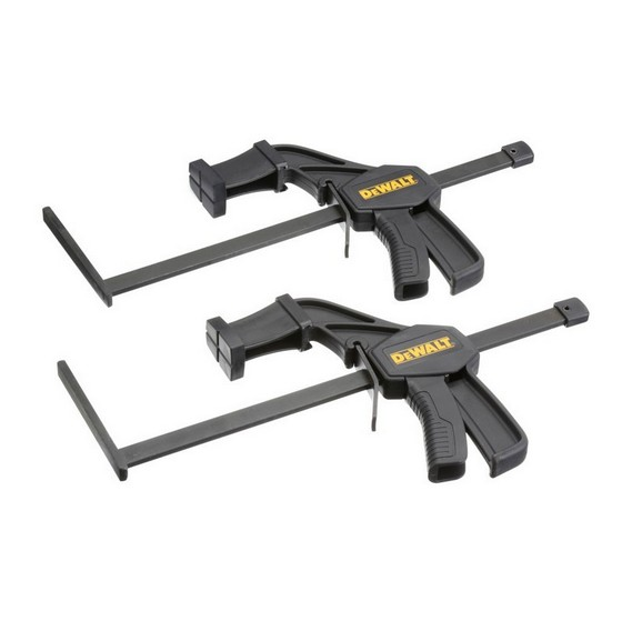 DEWALT DWS5026-XJ PAIR CLAMPS FOR USE WITH GUIDE RAIL