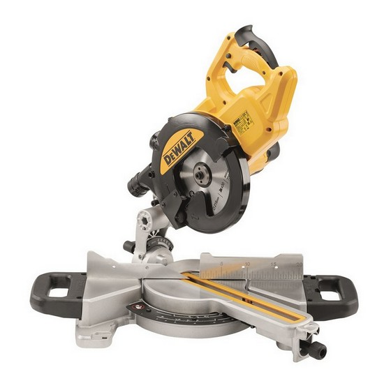 DEWALT DWS774 XPS 216MM MITRE SAW 240V