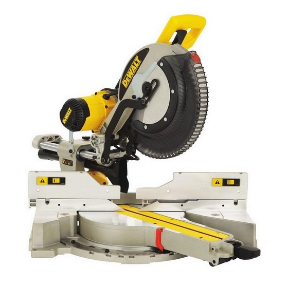 DEWALT DWS780 XPS 305MM DOUBLE BEVEL MITRE SAW 110V + DE7033 COMPACT LEGSTAND